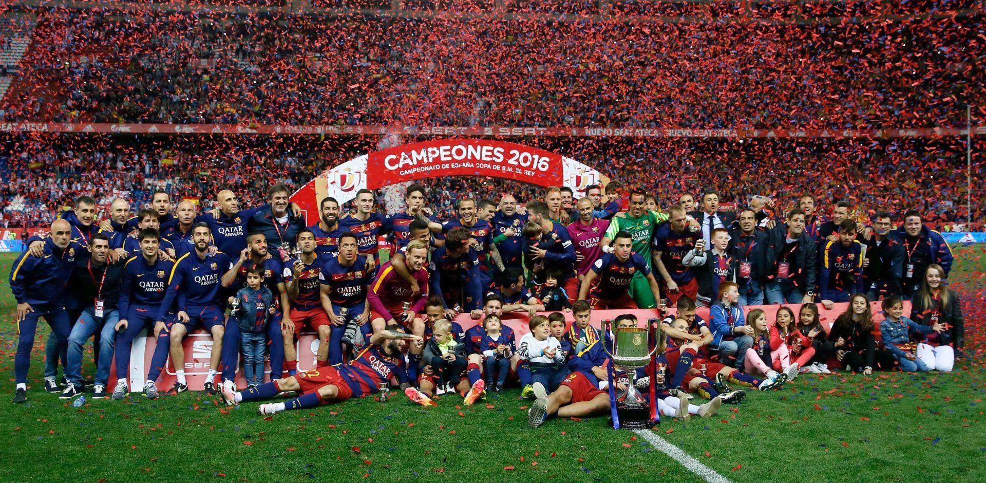 KUP KRALJA Barcelona obranila dvostruku krunu