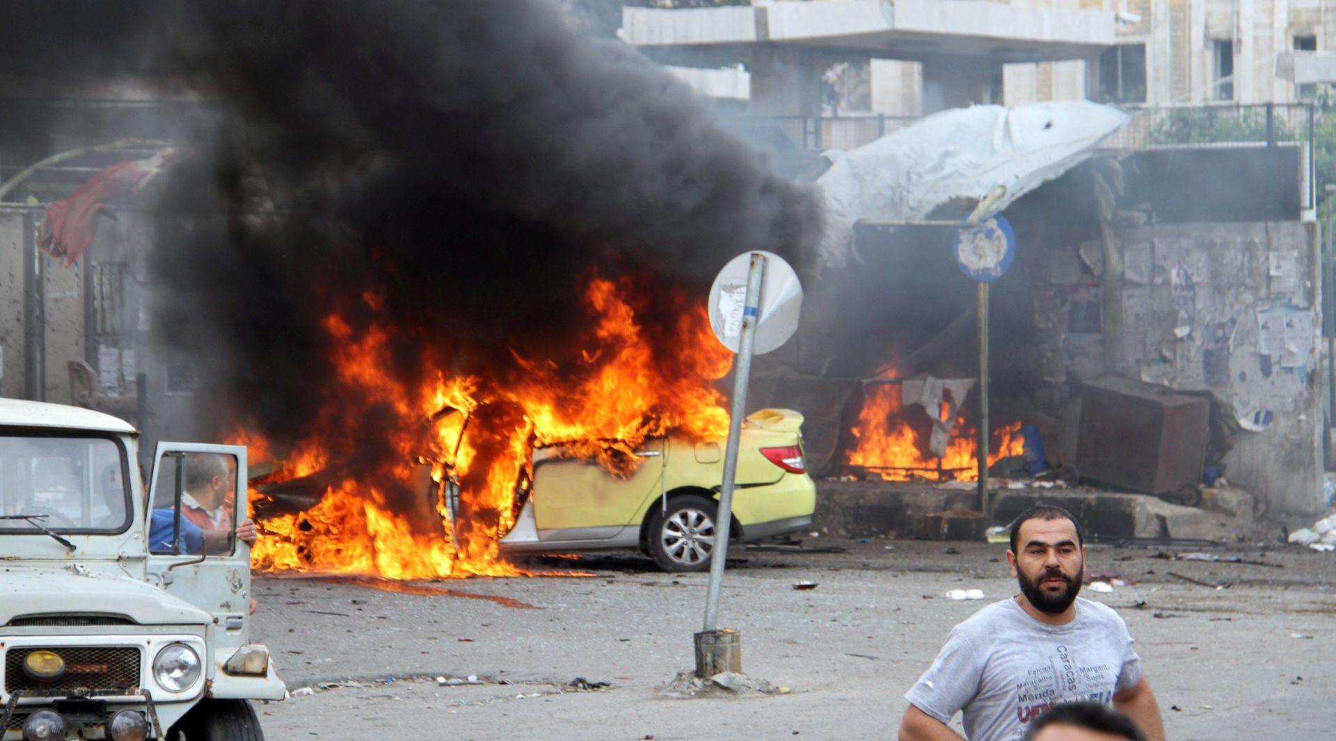 VIŠE OD 100 POGINULIH Islamska država preuzela odgovornost za napade u Siriji