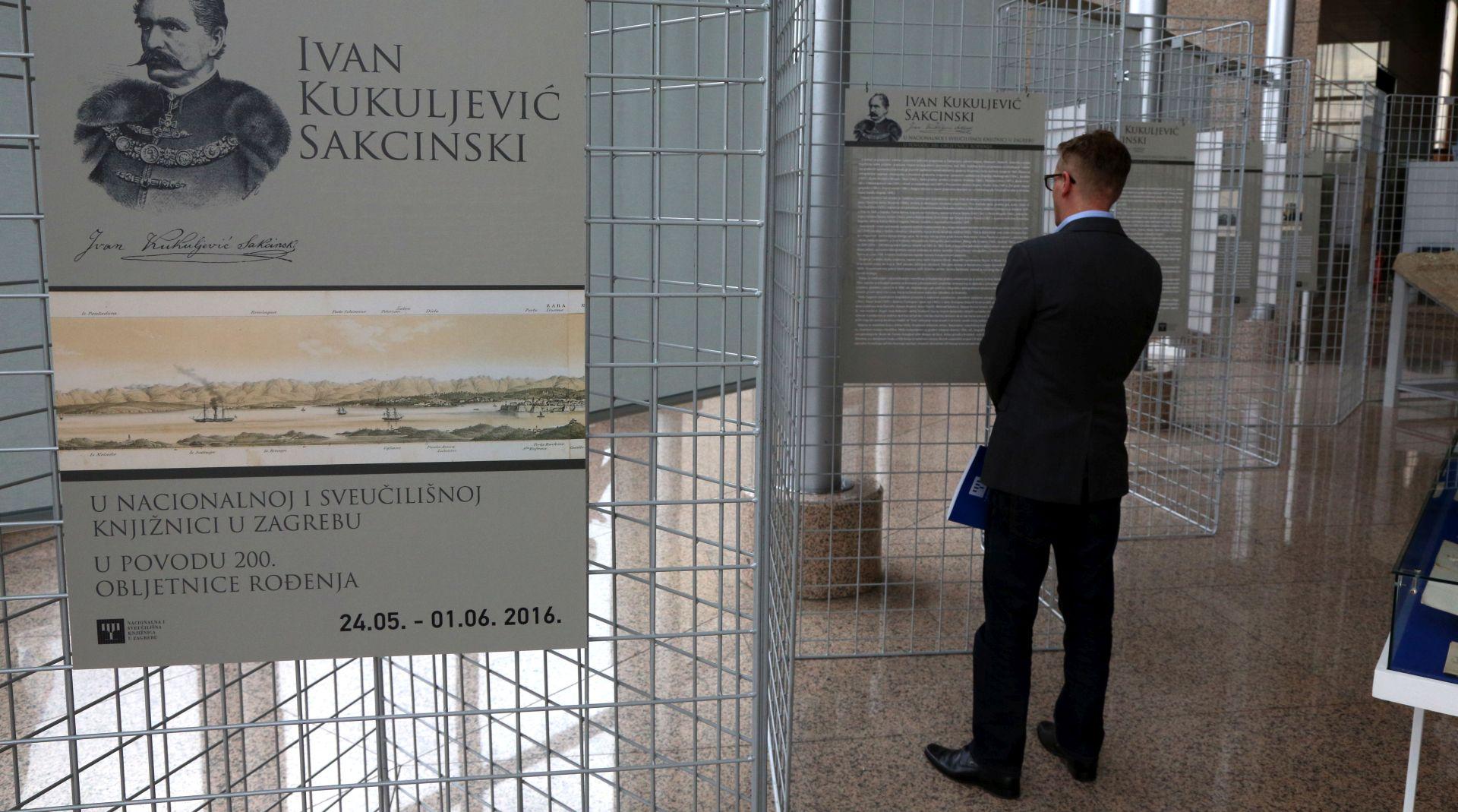 NSK izložbom odaje počast Kukuljeviću Sakcinskom