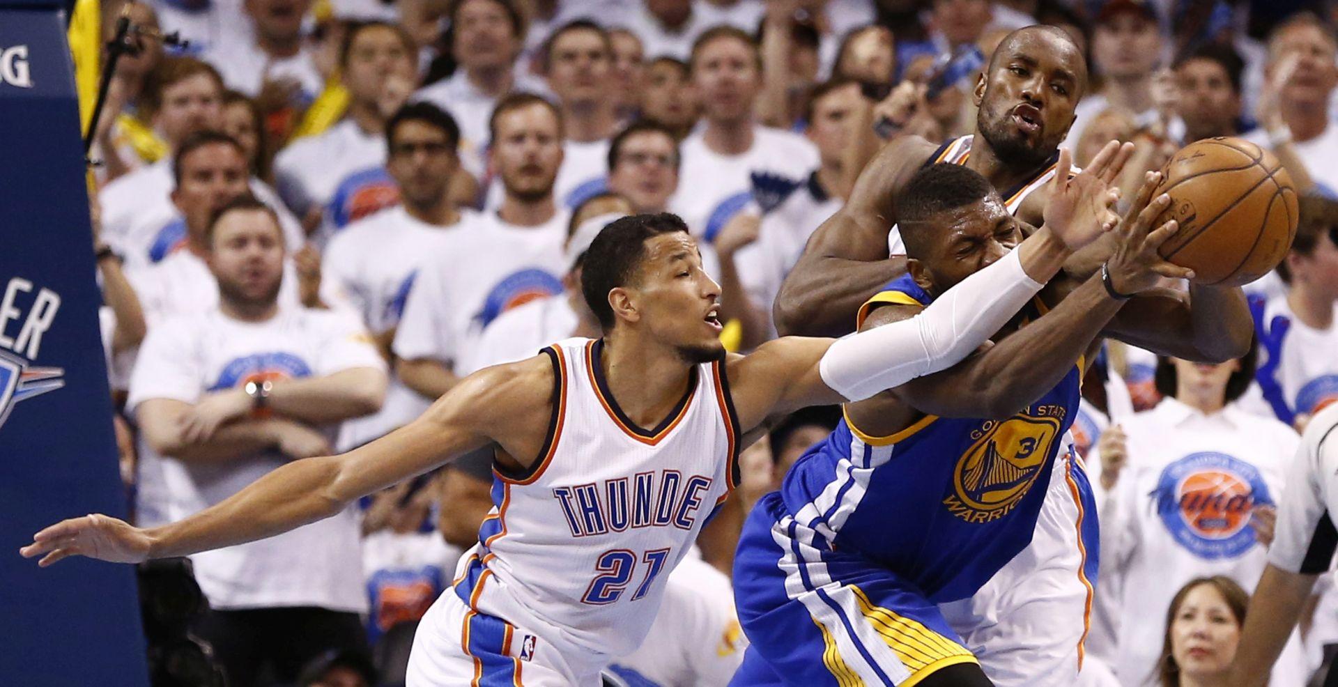 NBA PLAYOFF Golden State Warriorsi smanjili prednost Oklahome