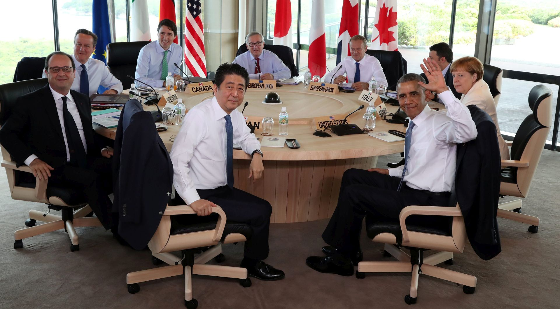 G7 završio summit pozivom na poticanje rasta u svijetu