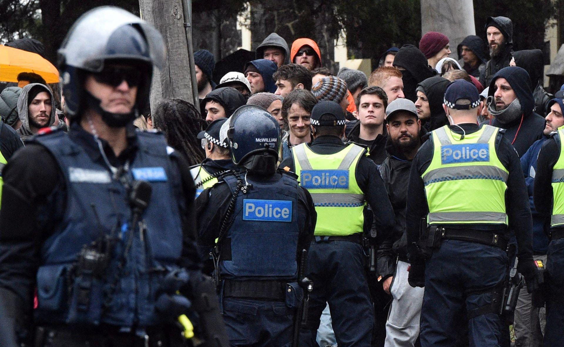 Australska policija prekinula sukobe prosvjednika