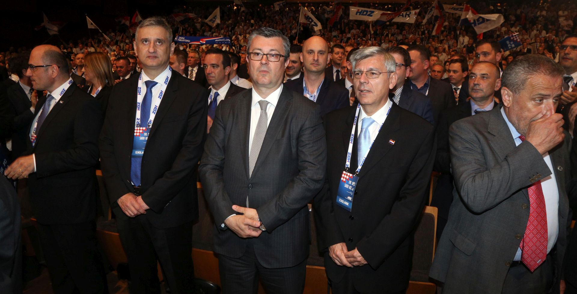 Počeo izborni sabor HDZ-a