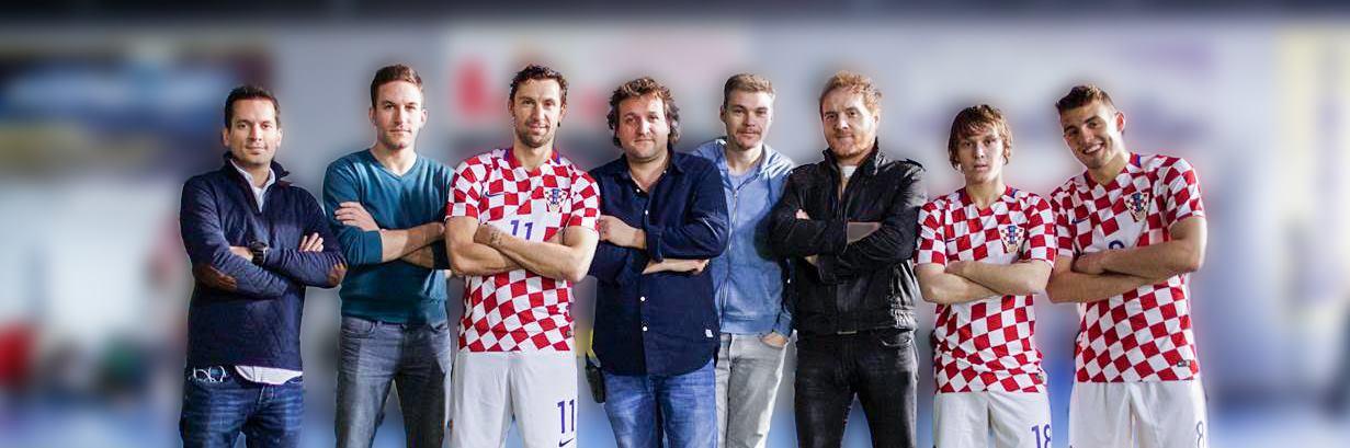 TRAJU SNIMANJA Hrvatski nogometni reprezentativci u novom televizijskom spotu za Ožujsko pivo