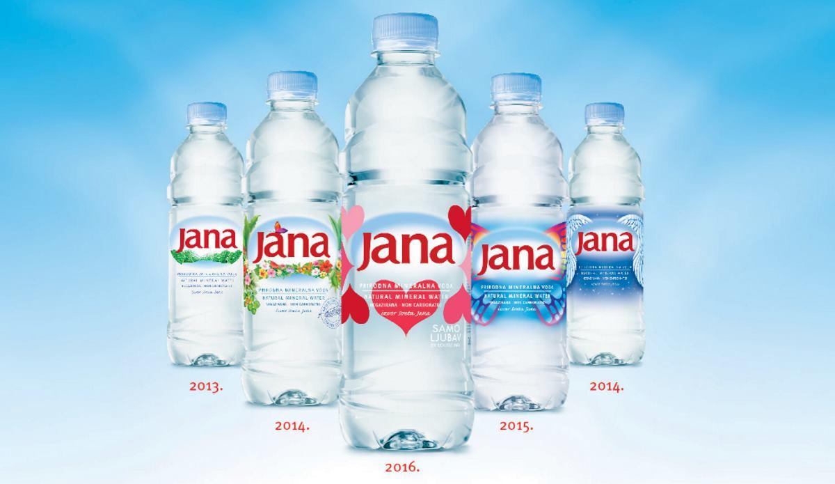 VALICON ISTRAŽIVANJE Jana voda s porukom je najsnažniji brand u Republici Hrvatskoj