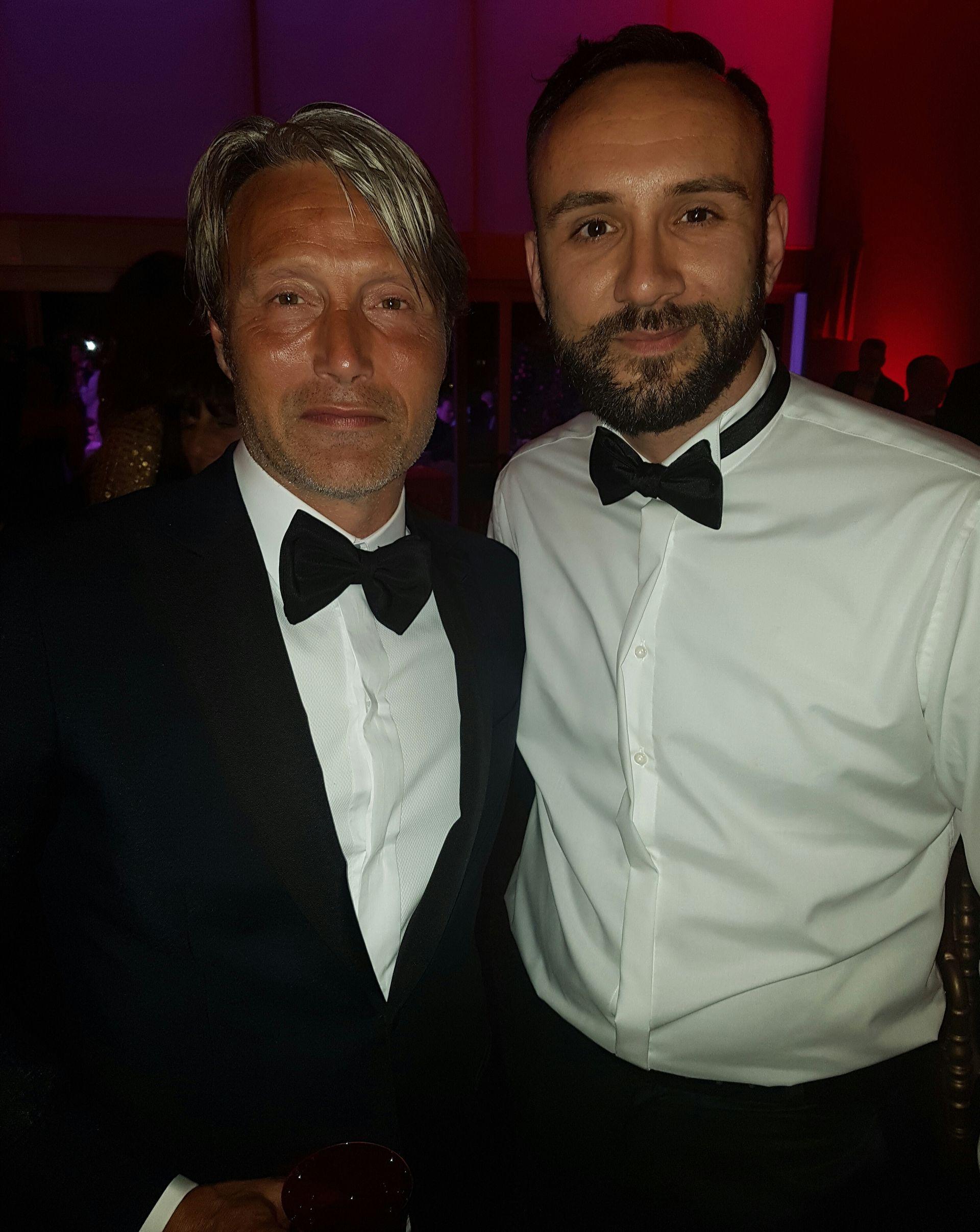 Mads Mikkelsen i Antonio Franić