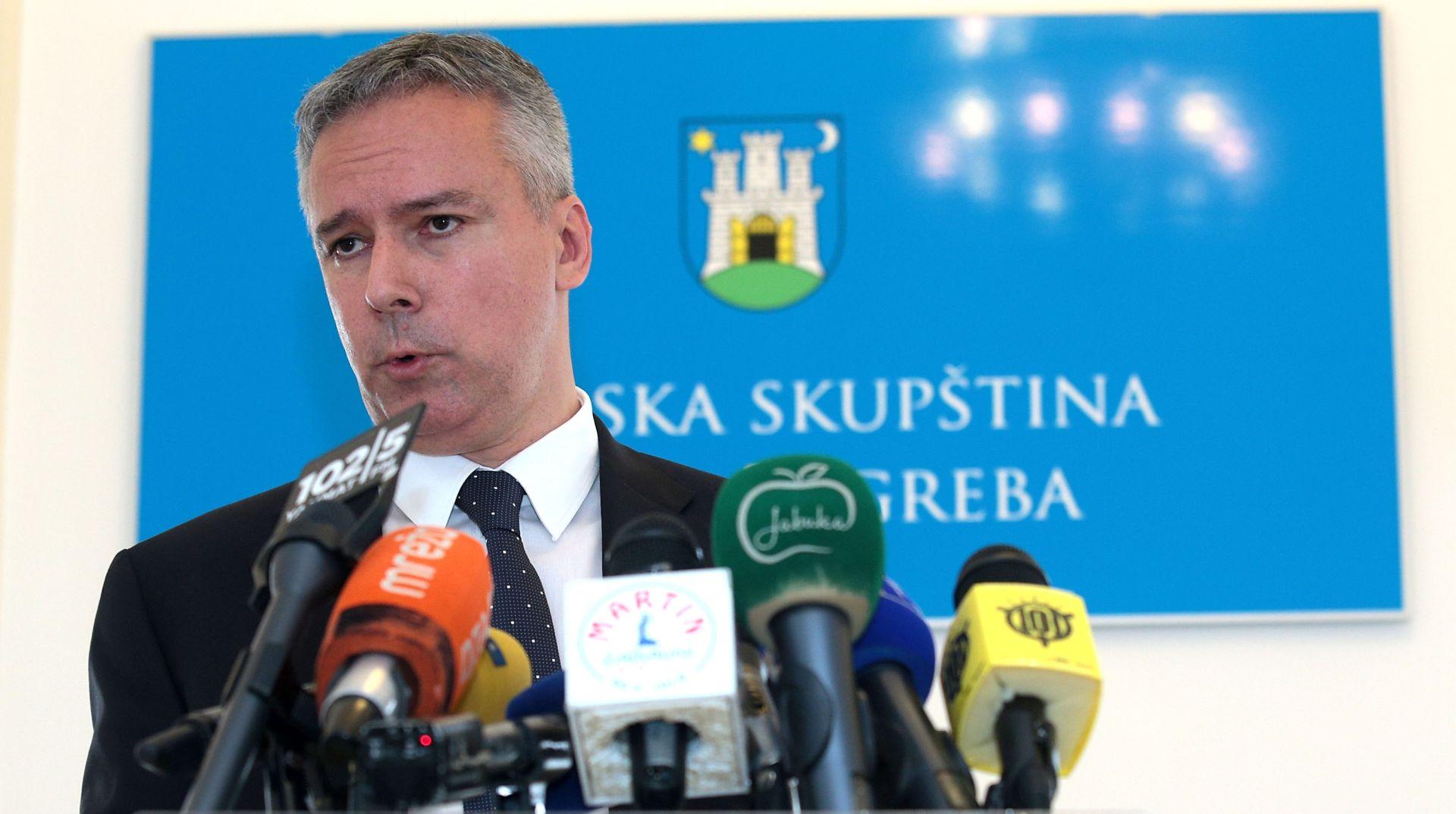 Darinko Kosor podnio ostavku na mjesto predsjednika Gradske skupštine