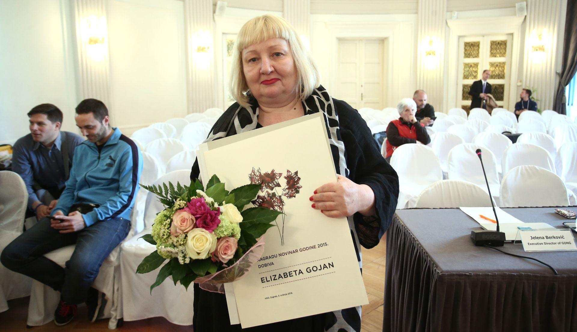 HND izabrao Elizabetu Gojan za novinarku godine