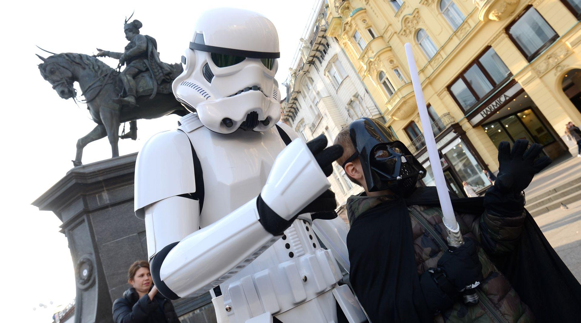 FOTO: MAY THE 4TH BE WITH YOU U Zagrebu obilježen međunarodni Star Wars Day