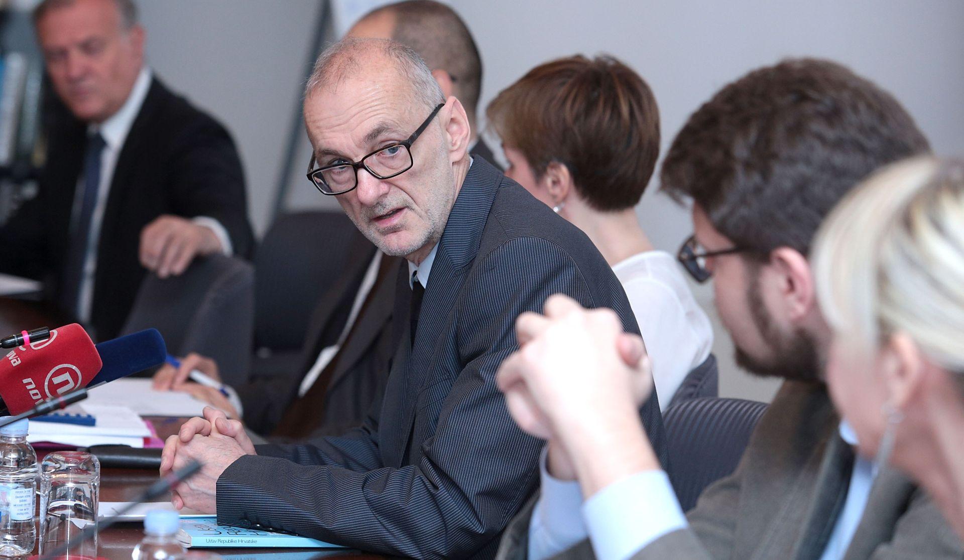 ROBERT PODOLNJAK Sabor će o ustavnim sucima glasovati javno
