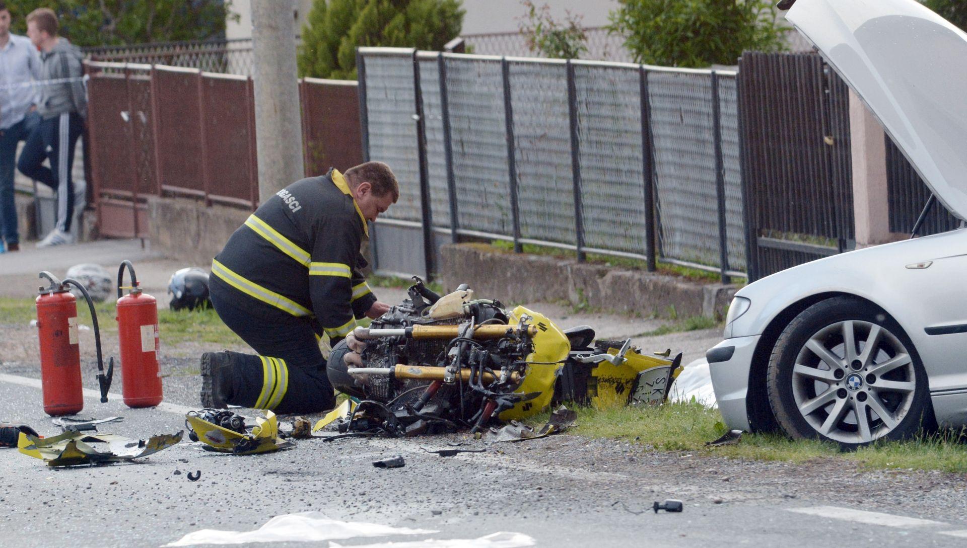 PROMETNA NESREĆA U PETRINJI Nakon vozača preminuo i suvozač s motocikla