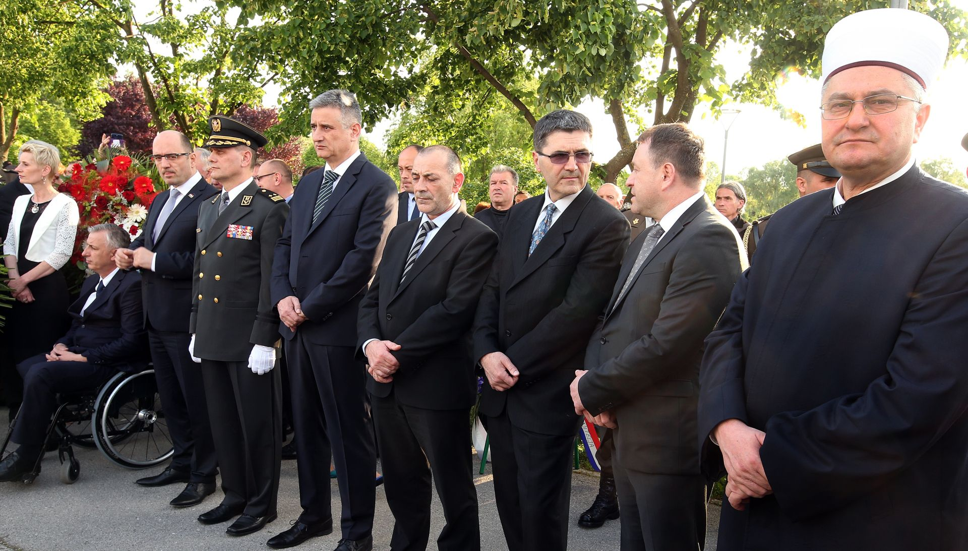 Počast poginulim hrvatskim braniteljim Bošnjacima