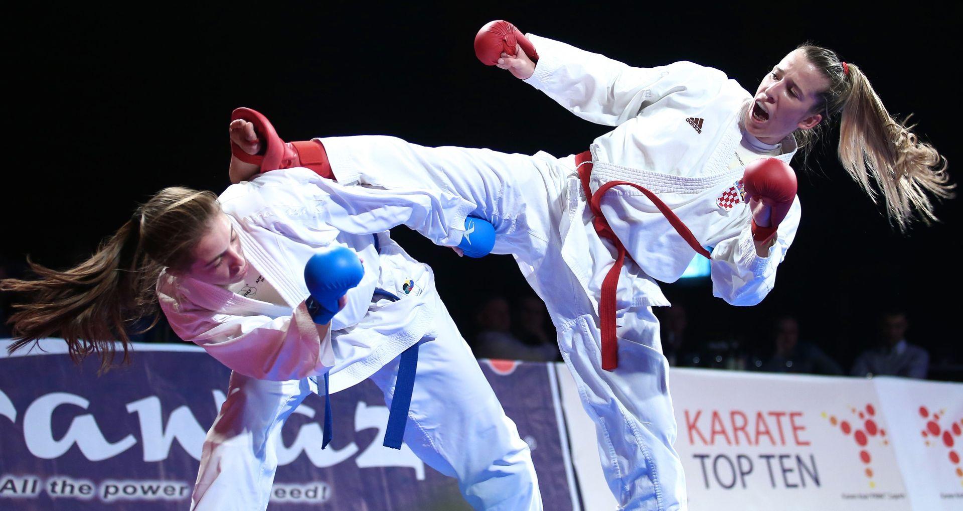 EUROPSKO PRVENSTVO U KARATEU Hrvatska ženska reprezentacija u finalu