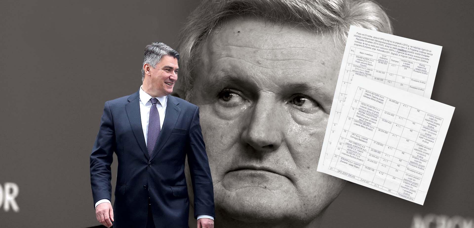 EKSKLUZIVNO: Todoriću, Pipuniću i Ervačiću  Juncker blokirao isplatu 360 milijuna kuna