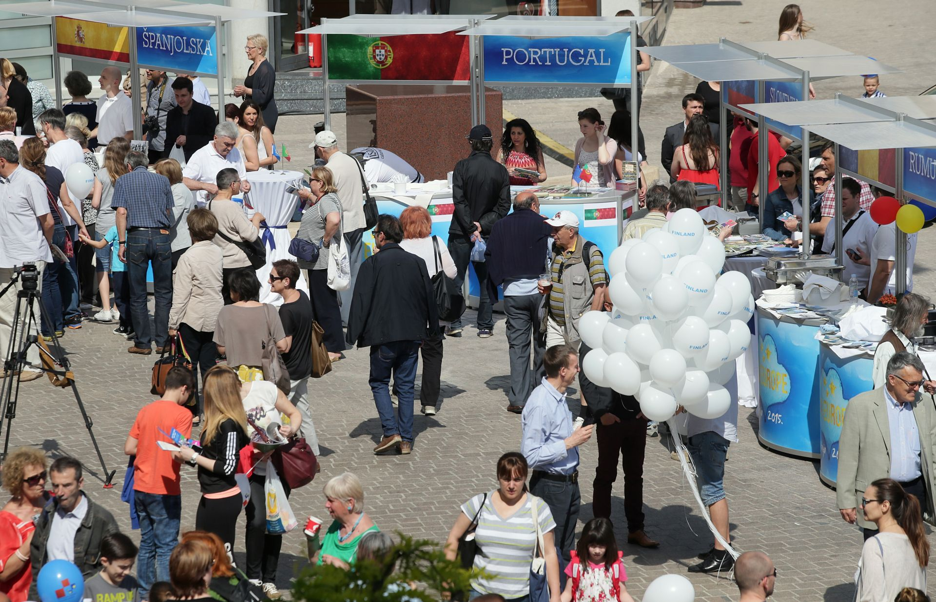 Počeo Europski tjedan središnjom proslavom na Trgu Europe