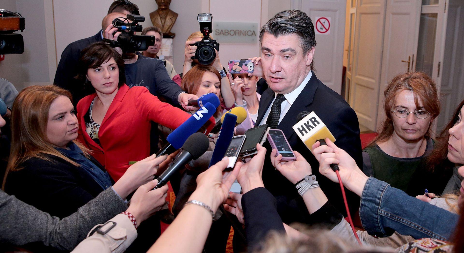 SDP-ovo Predsjedništvo o izglasavanju nepovjerenja Karamarku u Saboru