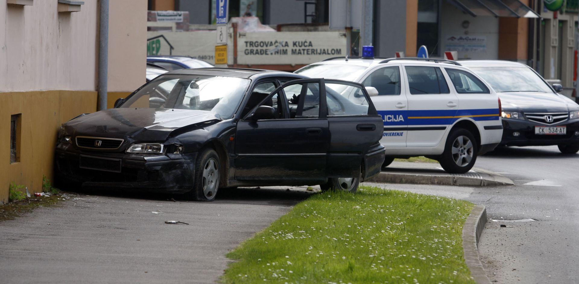 POLICIJSKA POTJERA U Hondi divljao po Čakovcu, na kraju se zabio u zgradu