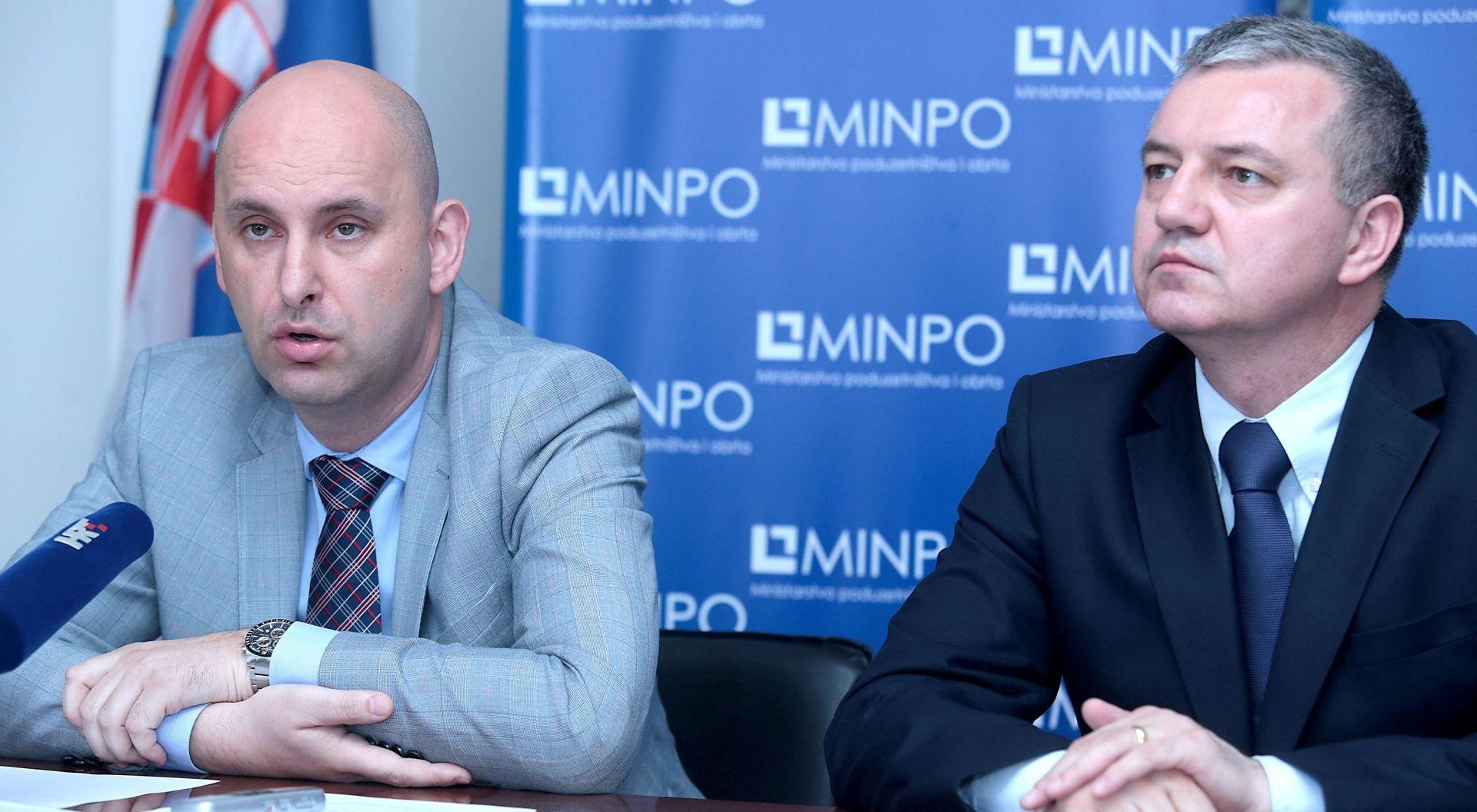 Za razvoj poduzetništva na raspolaganju 867 milijuna kuna iz EU fondova
