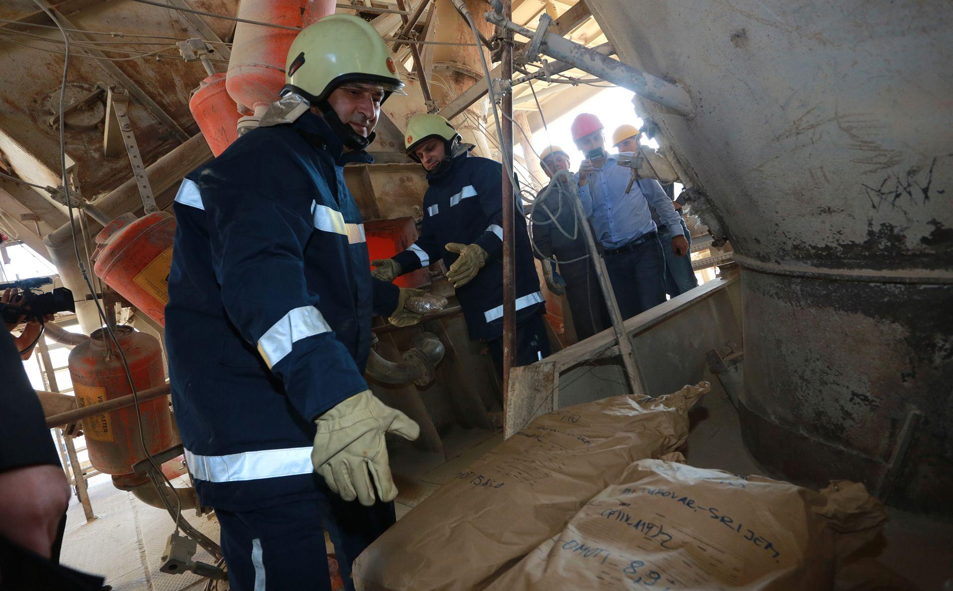 U tvrtki Našicecement spaljeno dvije tone opojnih droga
