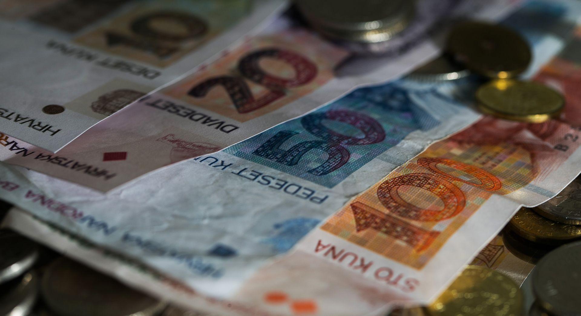 DZS: Prosječna neto plaća za ožujak 5.722 kune