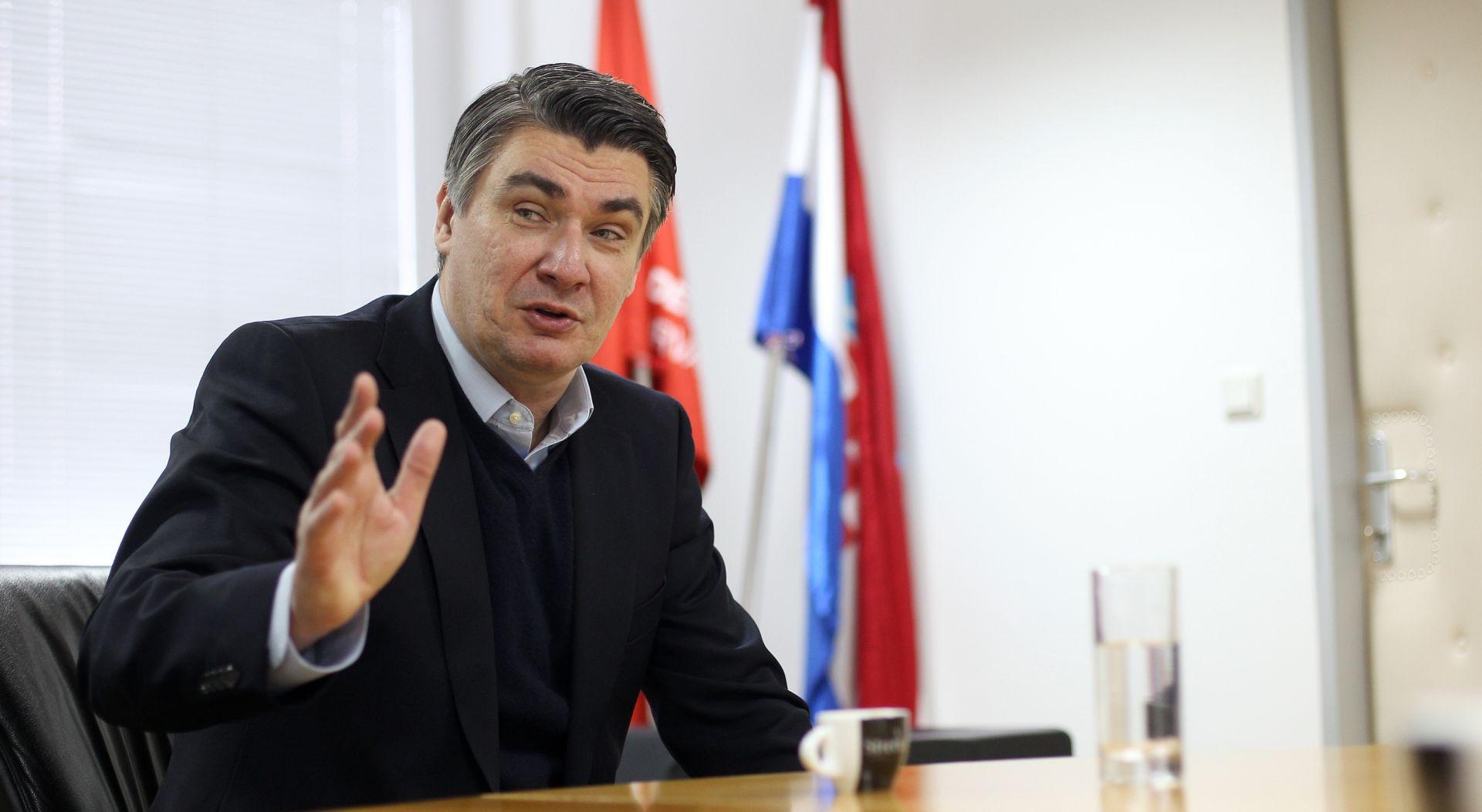 Milanović: SDP u srijedu pokreće postupak Karamarkova opoziva