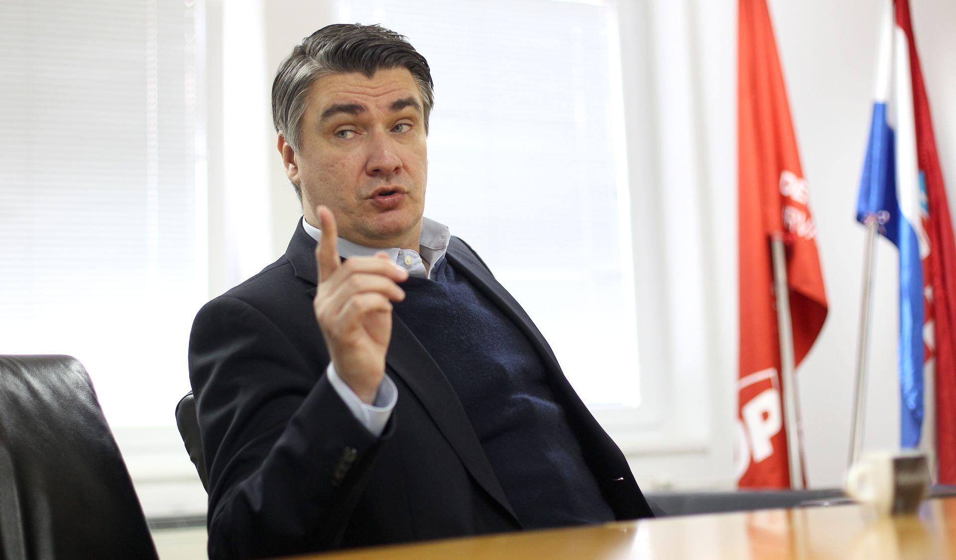 """MILANOVIĆ """"Vlada i fiktivna parlamentarna većina ne funkcioniraju"""""""