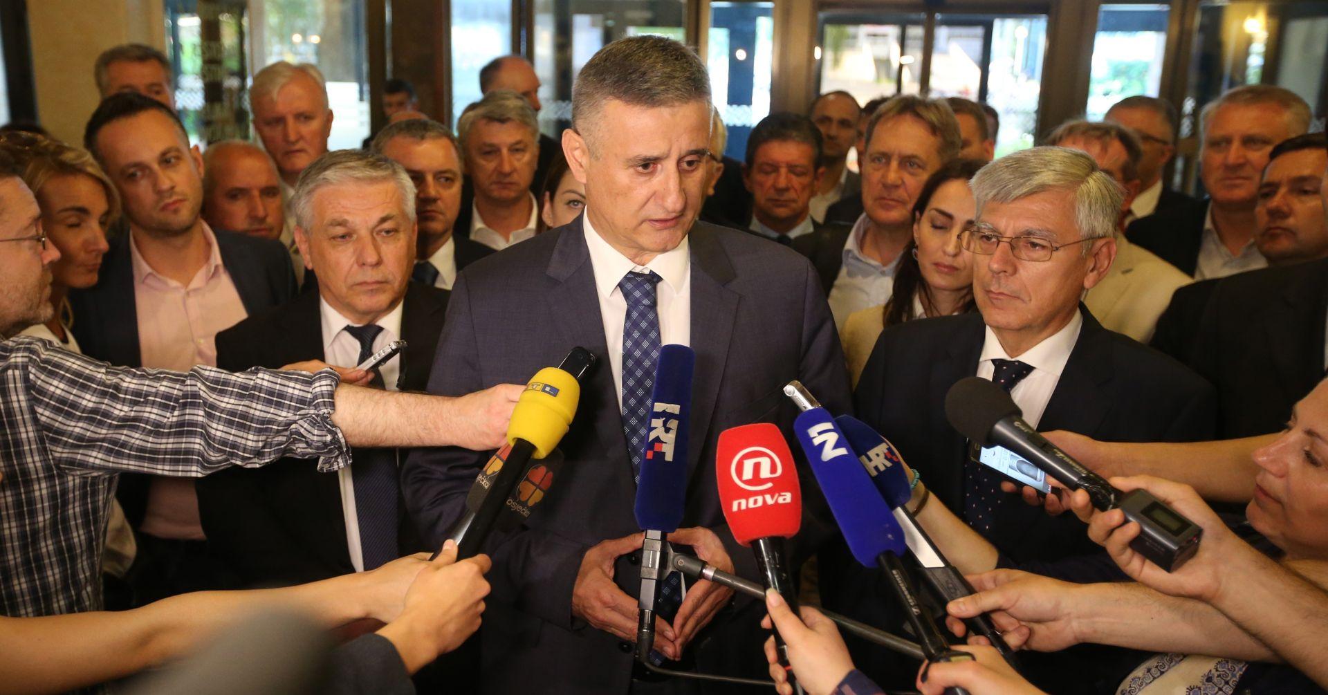 OBJAVLJENO OBRAZLOŽENJE Vlada odbija Prijedlog pokretanja pitanja povjerenja Karamarku