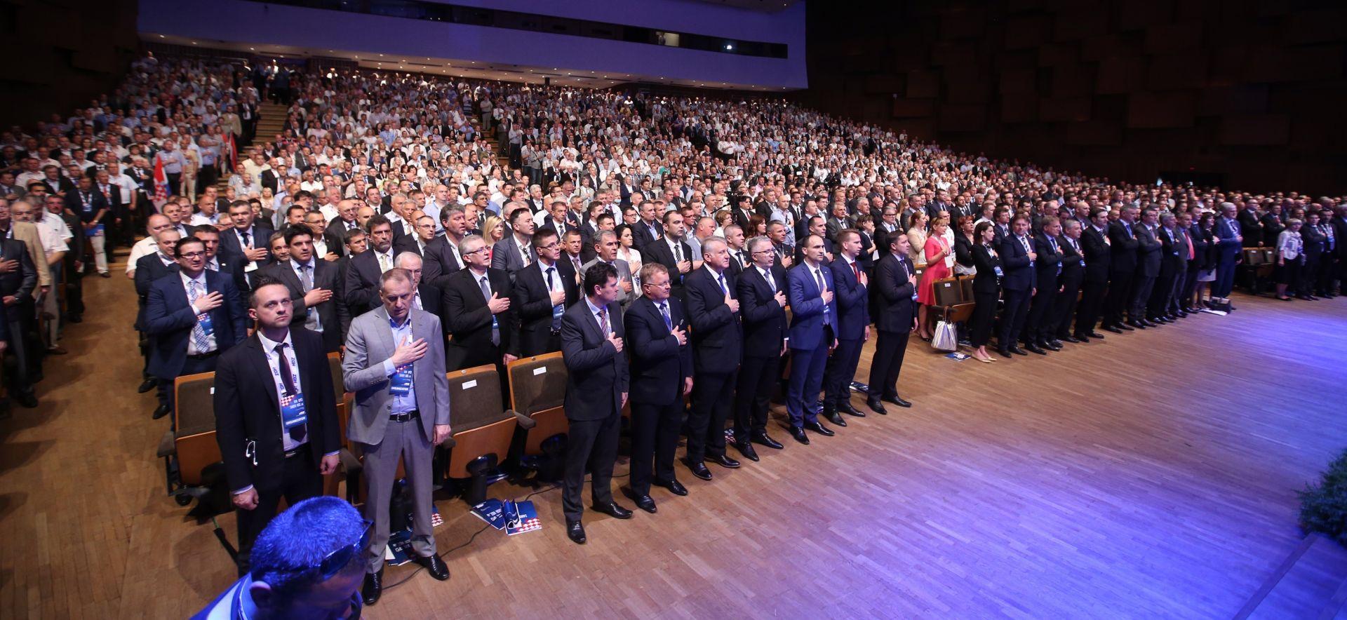 Sabor HDZ-a: Predsjednik i njegov zamjenik ubuduće će se birati zajedno