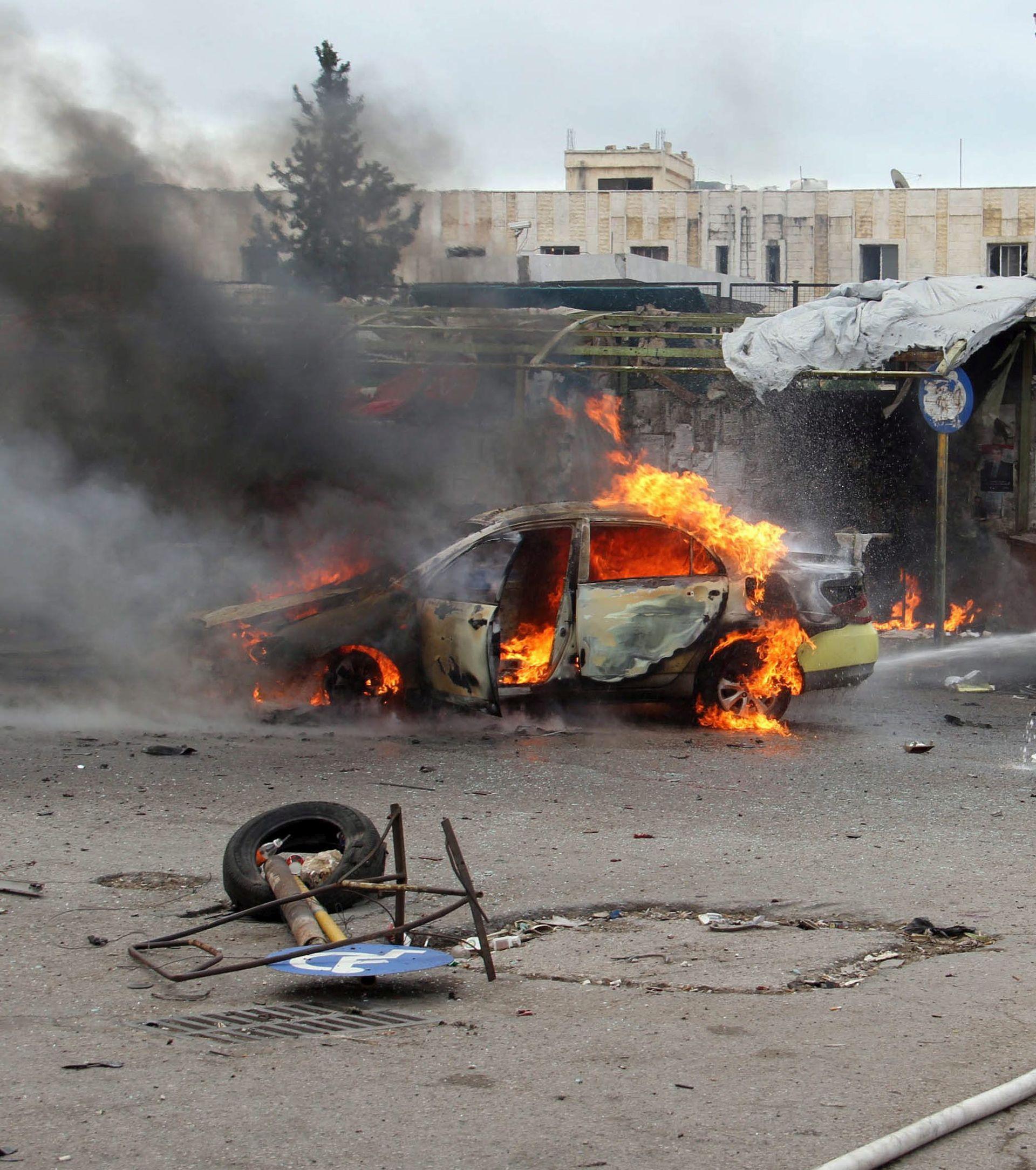NASTAVAK SUKOBA: Ofenziva IS-a na sjeveru Sirije, deseci mrtvih