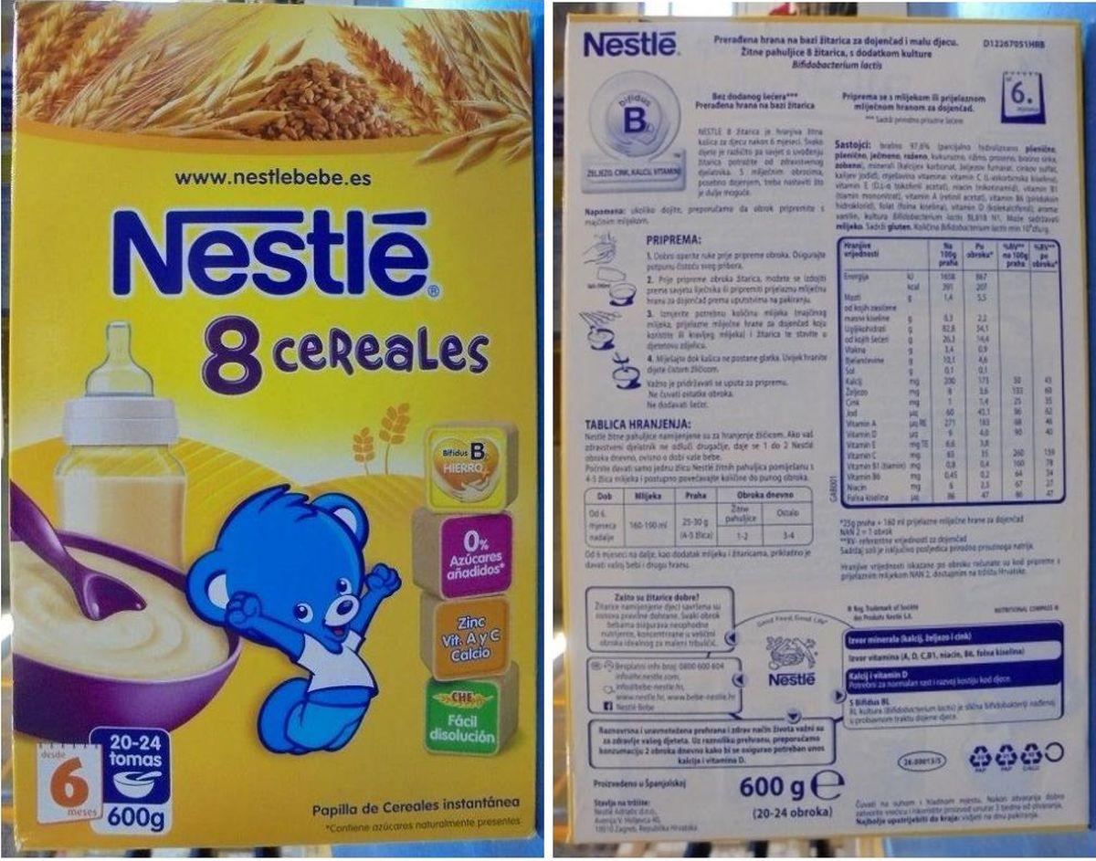 Sa polica dućana se hitno povlači prehrambeni proizvod za dojenčad i malu djecu Nestle