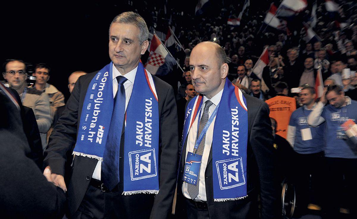 Nove tenzije između Karamarka i Brkića, raste nervoza u Dalmaciji