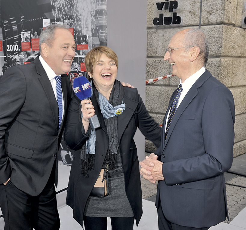 Politička elita i velike zvijezde televizijskih ekrana na proslavi HRT-a