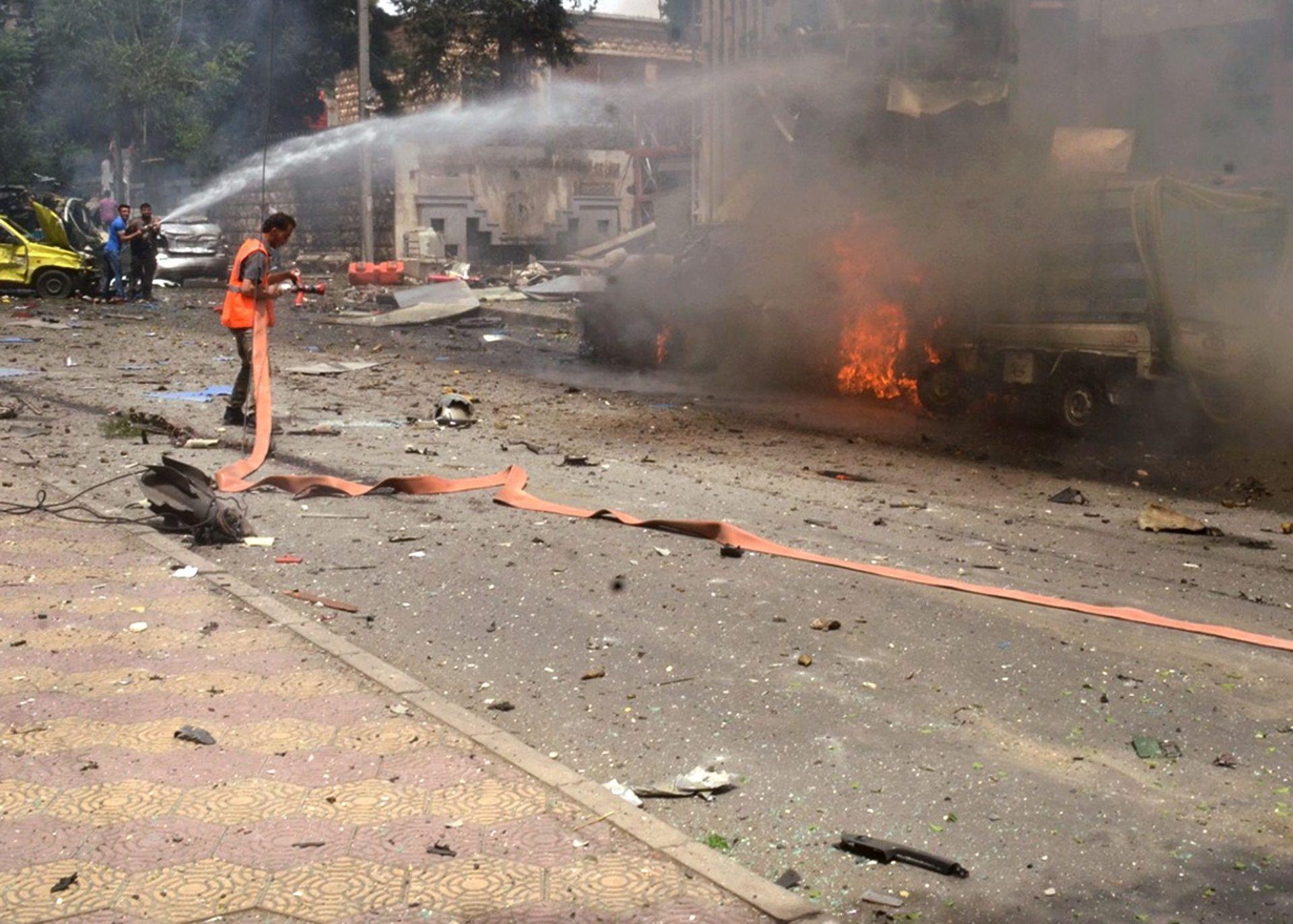 RAKETNA PALJBA: U pucnjavi pobunjenika u Alepu ubijena tri civila