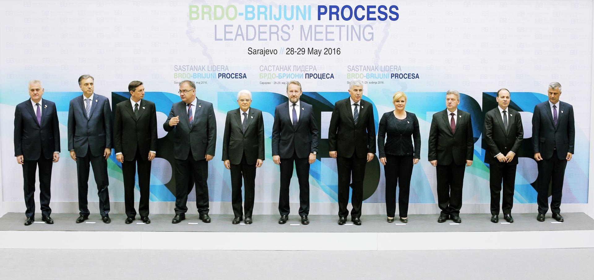 Sarajevo: Počeo summit Brdo-Brijuni procesa