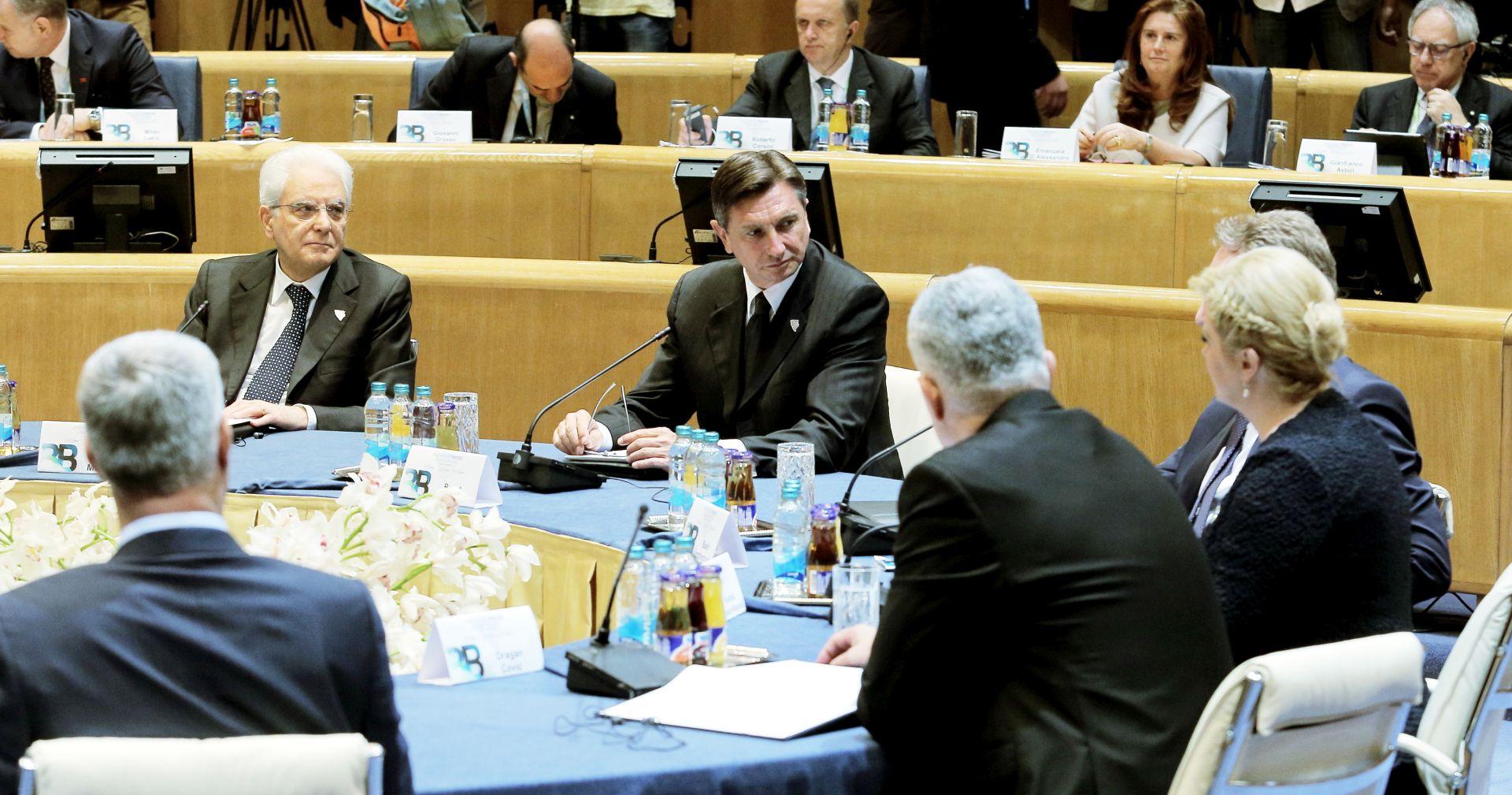 PREDSJEDNICI SLOŽNI: Summit Brdo-Brijuni potvrdio spremnost za suradnju i pridruživanje EU-u