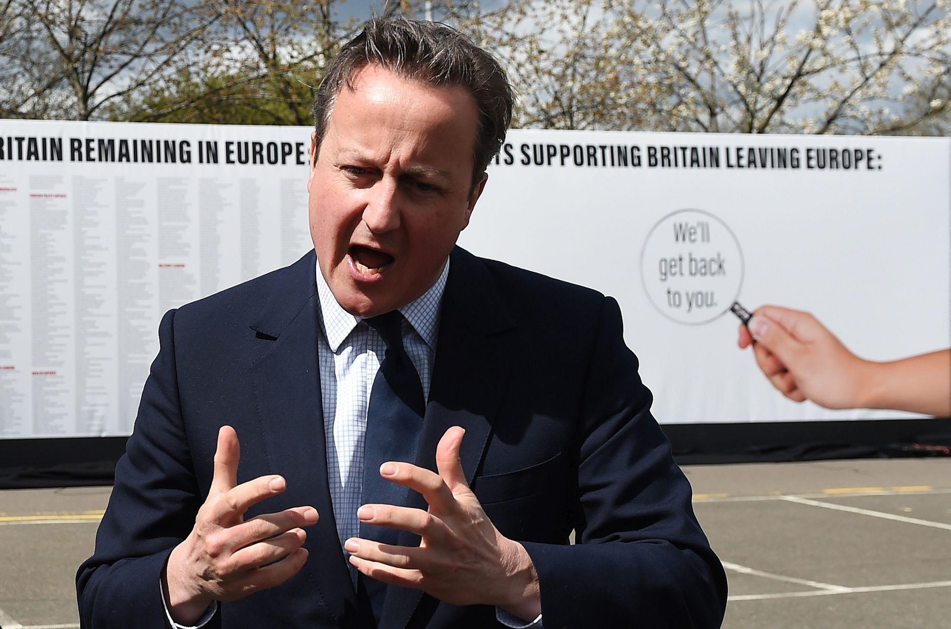 BREXIT: Cameron upozorava da bi izlazak iz EU ugrozio mir u Europi