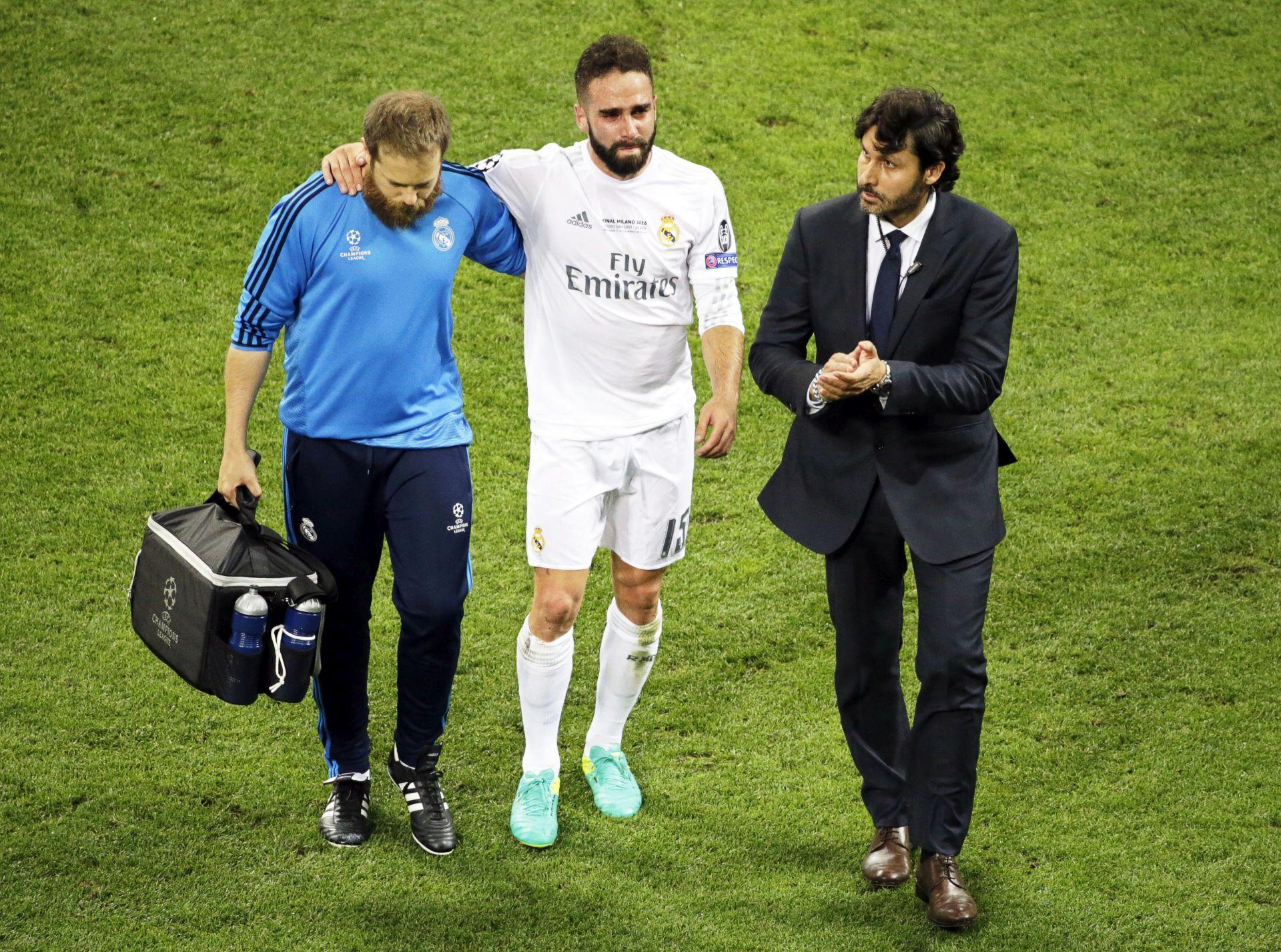 EURO 2016: Dani Carvajal ozlijeđen, upitan za Euro