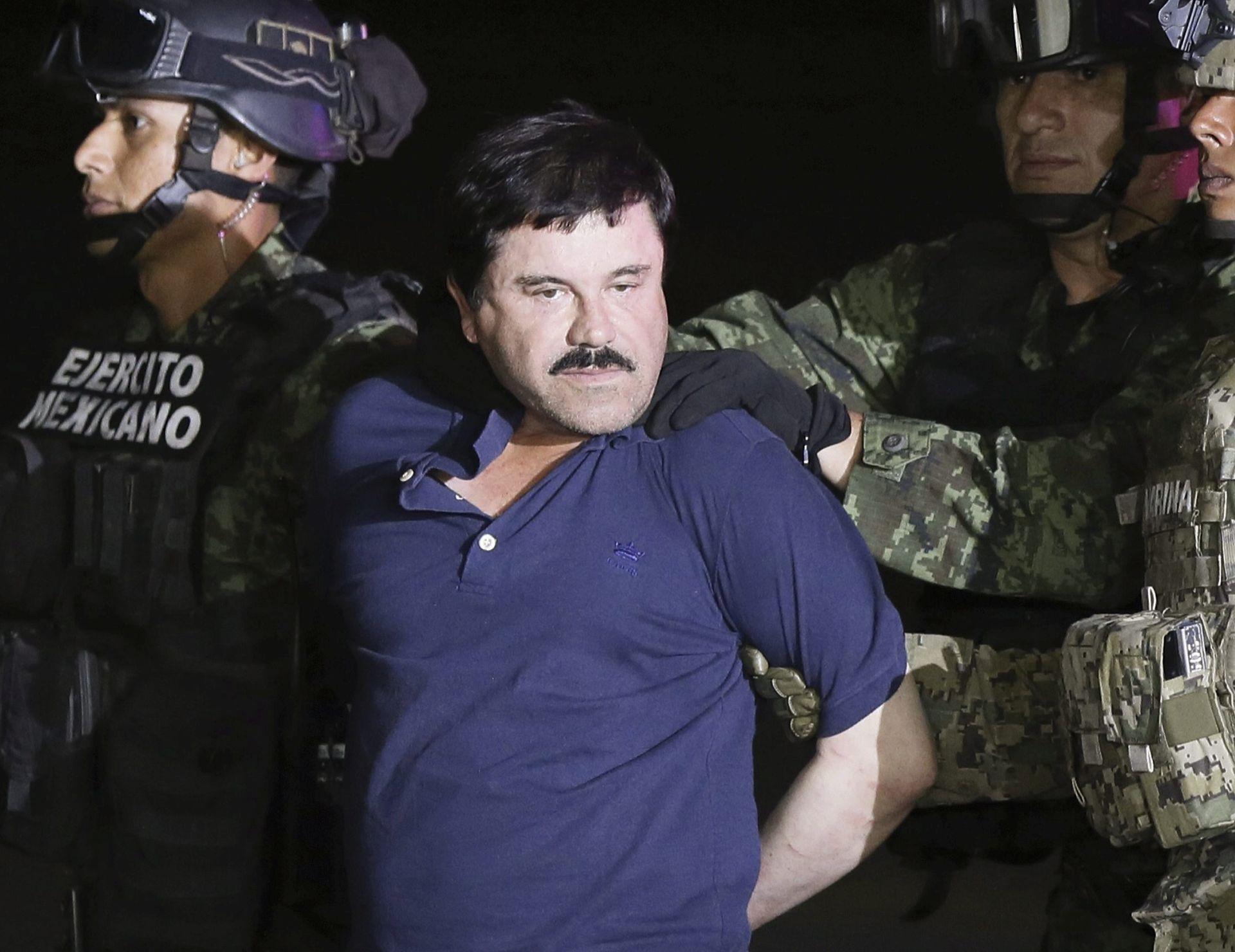 """MEKSIKO ODOBRIO: Izručenje narko bossa """"El Chapa"""" SAD-u"""