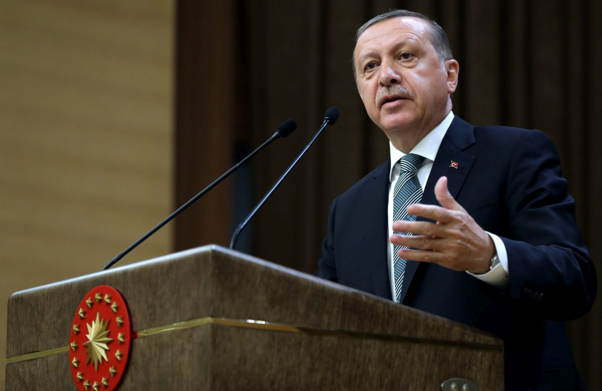Erdogan optužio Zapad za potporu terorizmu