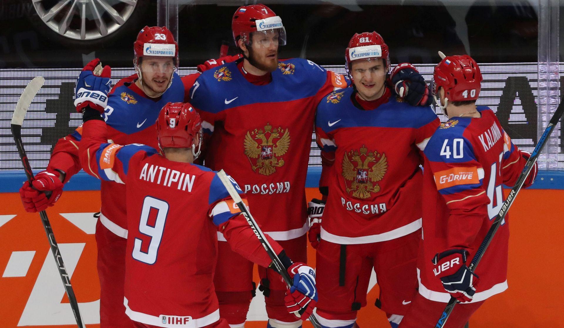 SP hokej na ledu: Očekivane pobjede Rusa i Kanađana