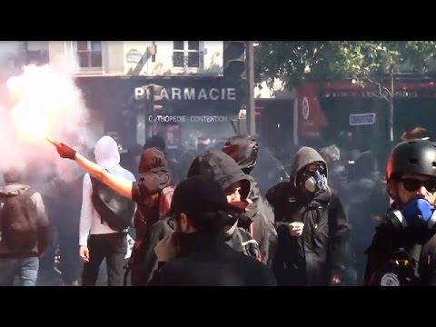 VIDEO: Sindikalni prosvjedi u Parizu protiv reforme tržišta rada