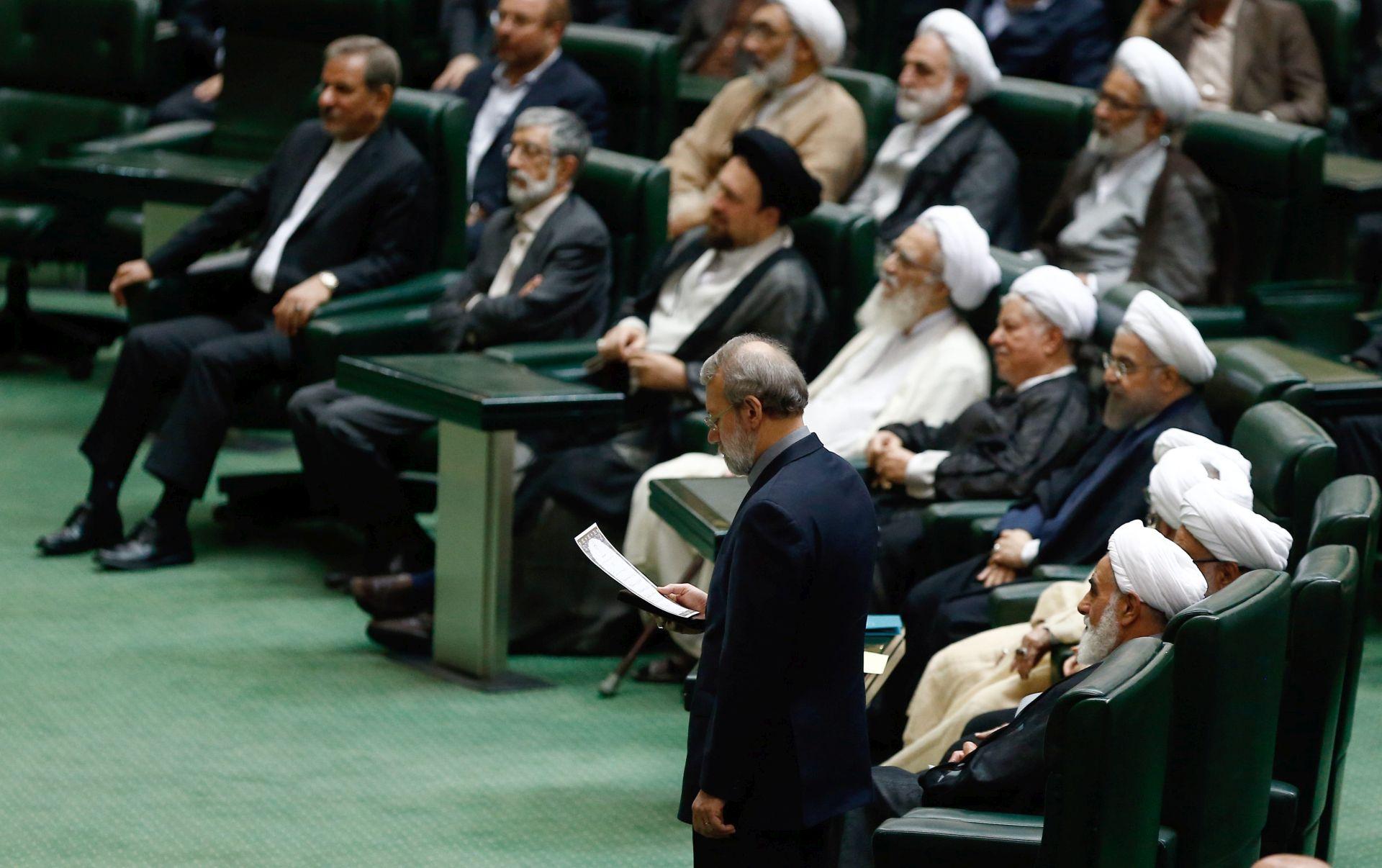 IRANSKI PARLAMENT: Konzervativac Ali Larijani ponovno izabran za predsjednika