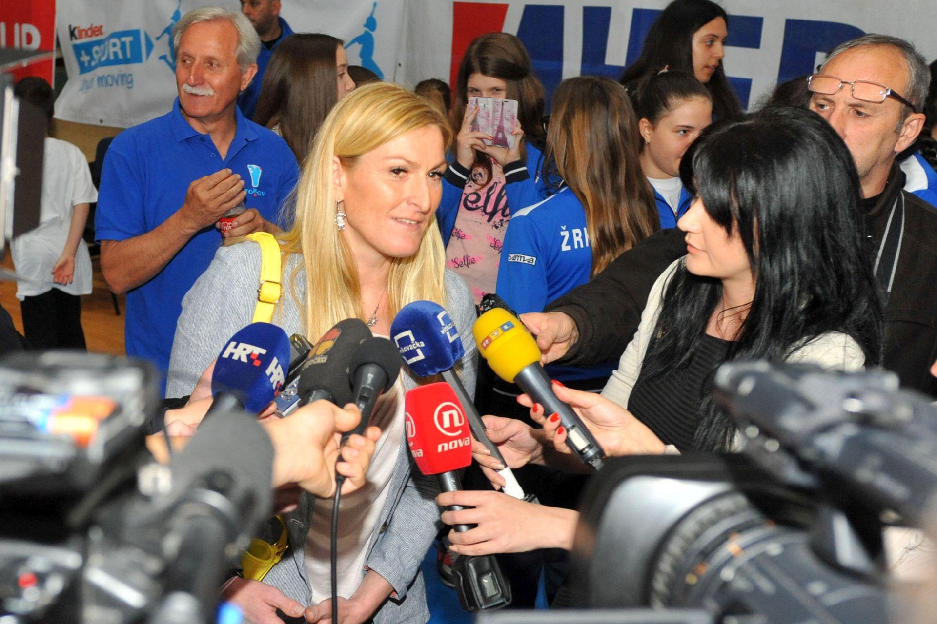 Janica Kostelić: Vjerujem da će sredstva biti pravilno raspodijeljena