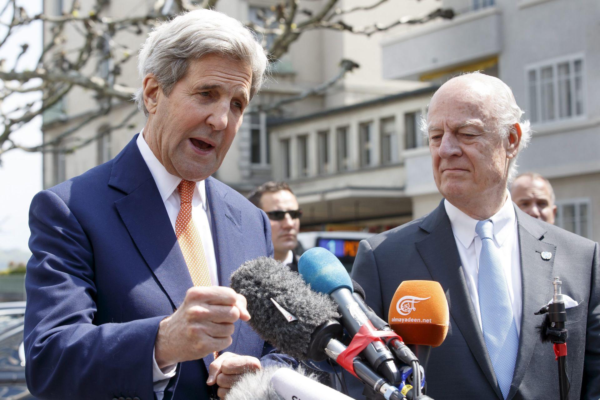 RAT U SIRIJI: John Kerry vidi nadu za proširenje primirja i na Alep