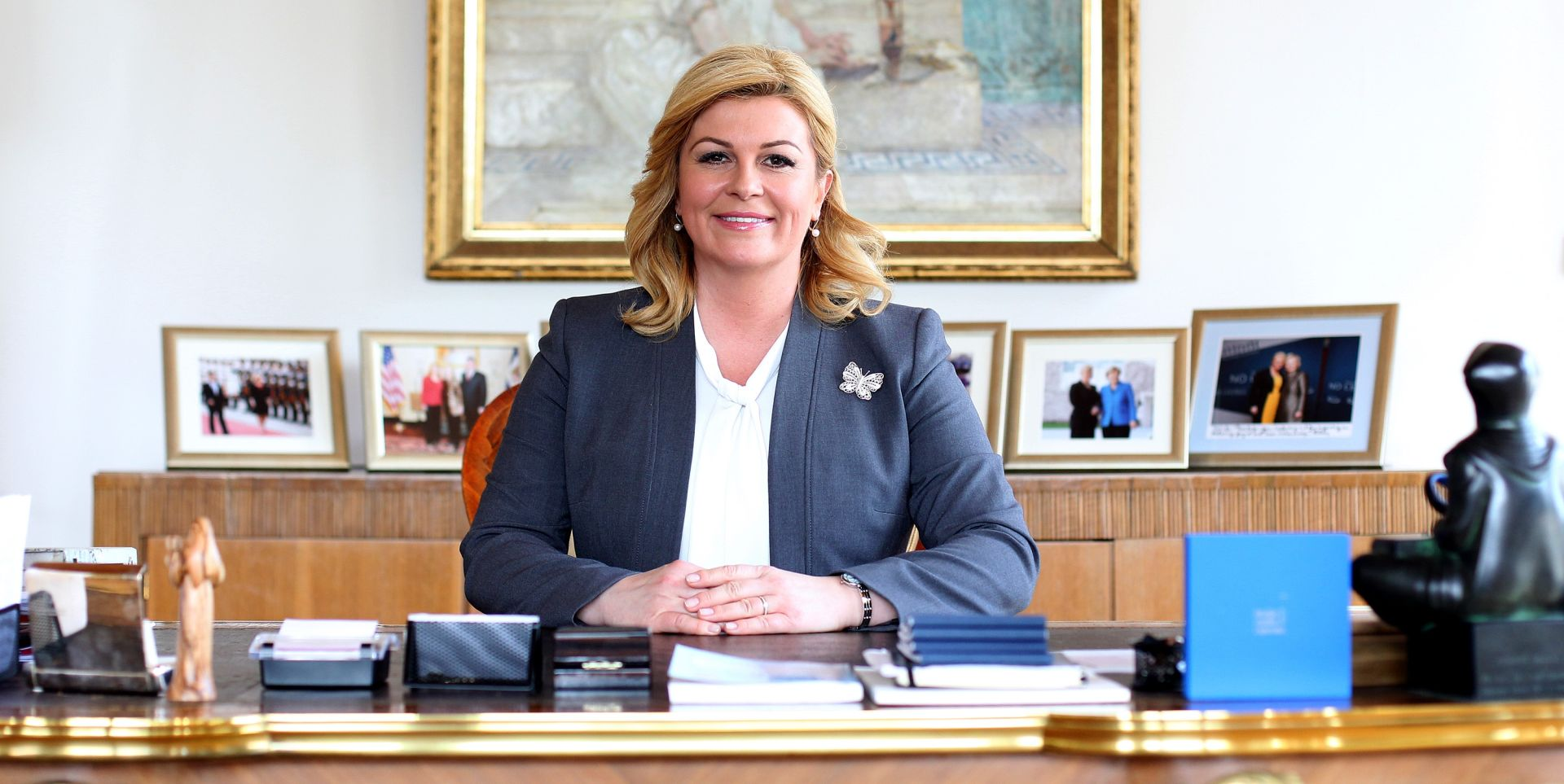 URED PREDSJEDNICE: Razrješenja dužnosti i nova imenovanja na Pantovčaku