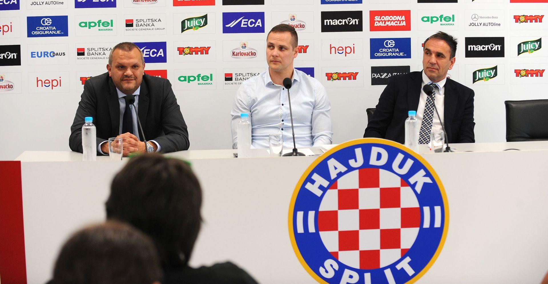 """Predsjednik Hajduka predstavio svoje """"consigliere"""""""