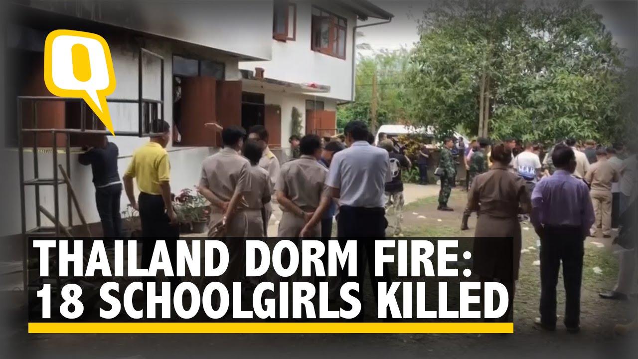 VIDEO: TAJLAND Požar u školskoj spavaonici, poginulo 18 učenica