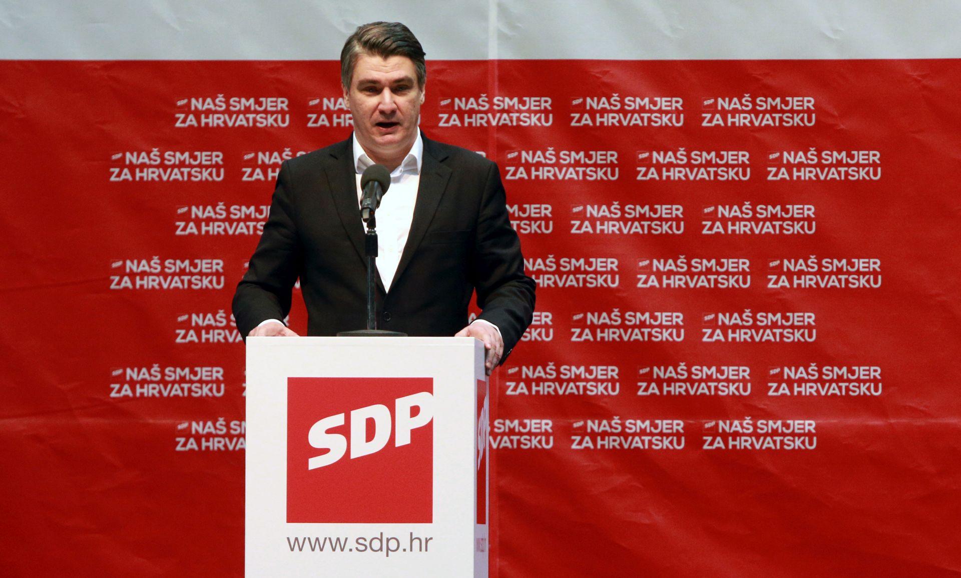 ZORAN MILANOVIĆ: 'Ponašanje Kolinde Grabar-Kitarović je neozbiljno i neodgovorno'