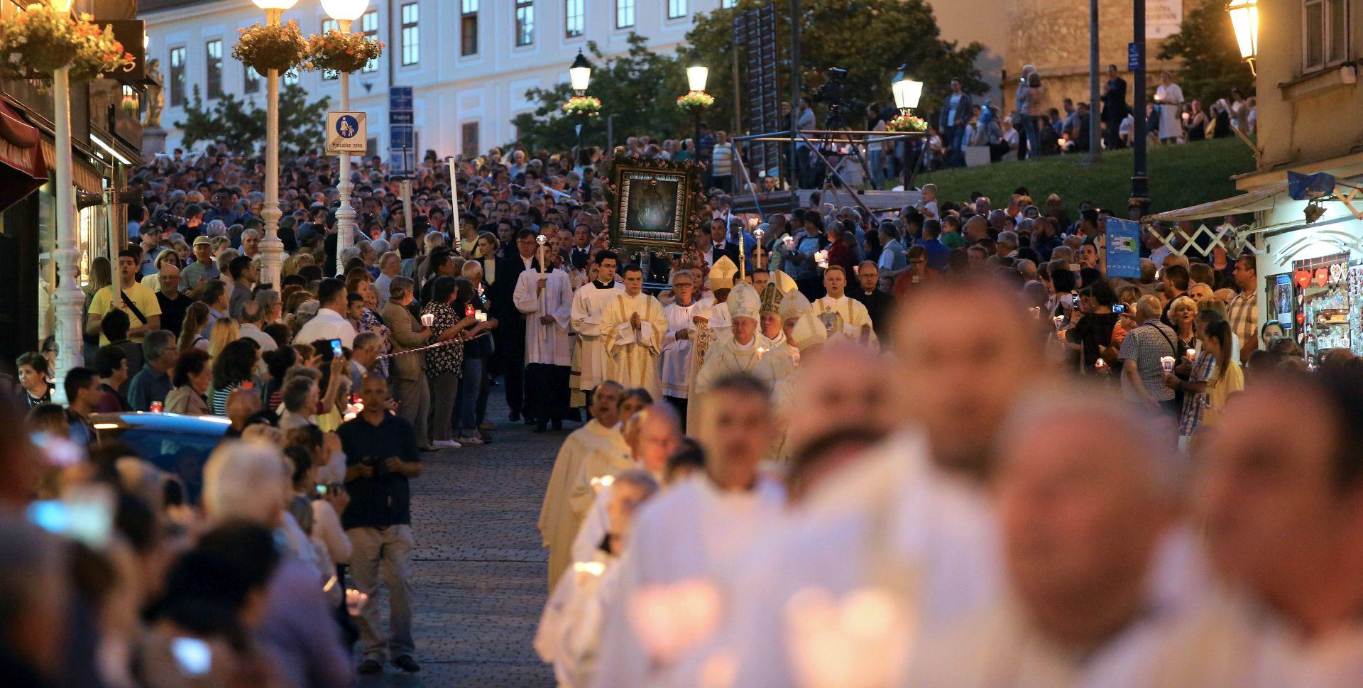 DAN GRADA ZAGREBA: Misa i procesija na svetkovinu Majke Božje od Kamenitih vrata