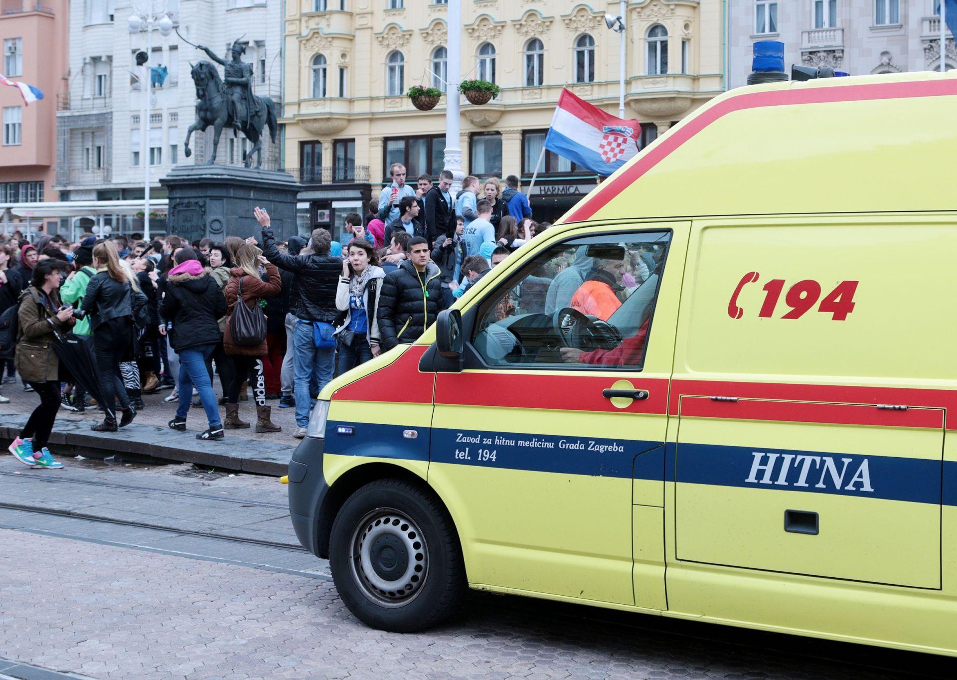 Dan zagrebačkih maturanata: Sedmero privedenih, 25 intervencija hitne